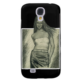 Girl Galaxy S4 Cover