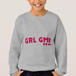 Girl Gamer - GRL GMR Video Games Geek Gaming Sweatshirt