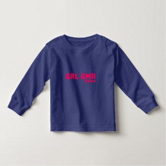 Girl Gamer - GRL GMR Video Games Geek Gaming Toddler T-shirt