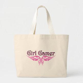 Girl Gamer Large Tote Bag