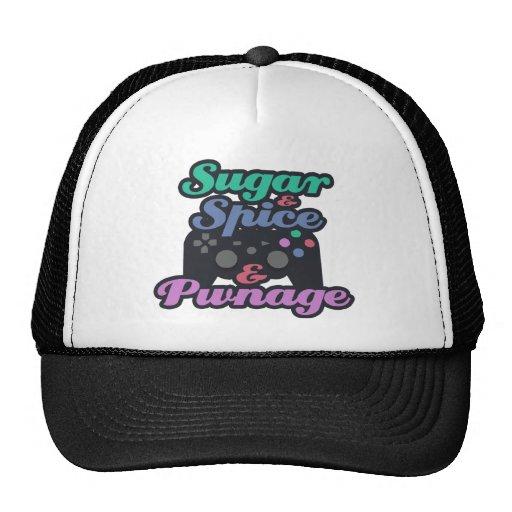 Girl Gamer Pwnage Trucker Hat
