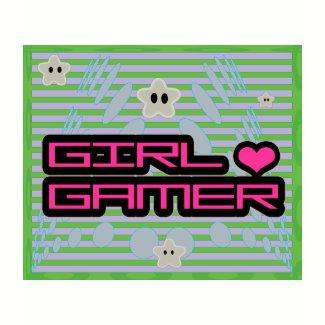 Girl Gamer T-Shirt shirt