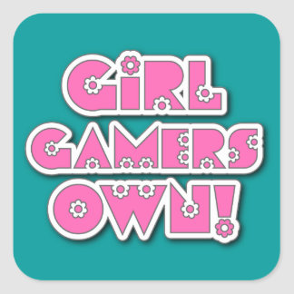 Girl Gamers Own! Stickers