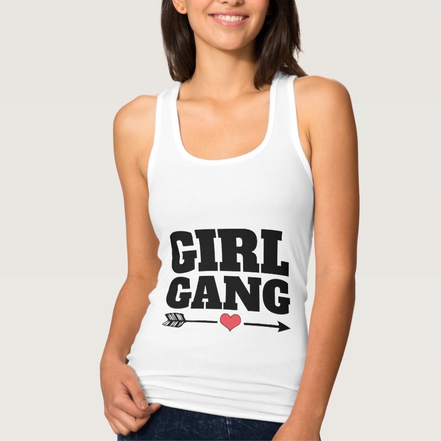 GIRL GANG T-Shirts & Tank tops - Best Selling Long-Sleeve Street Fashion Shirt Designs