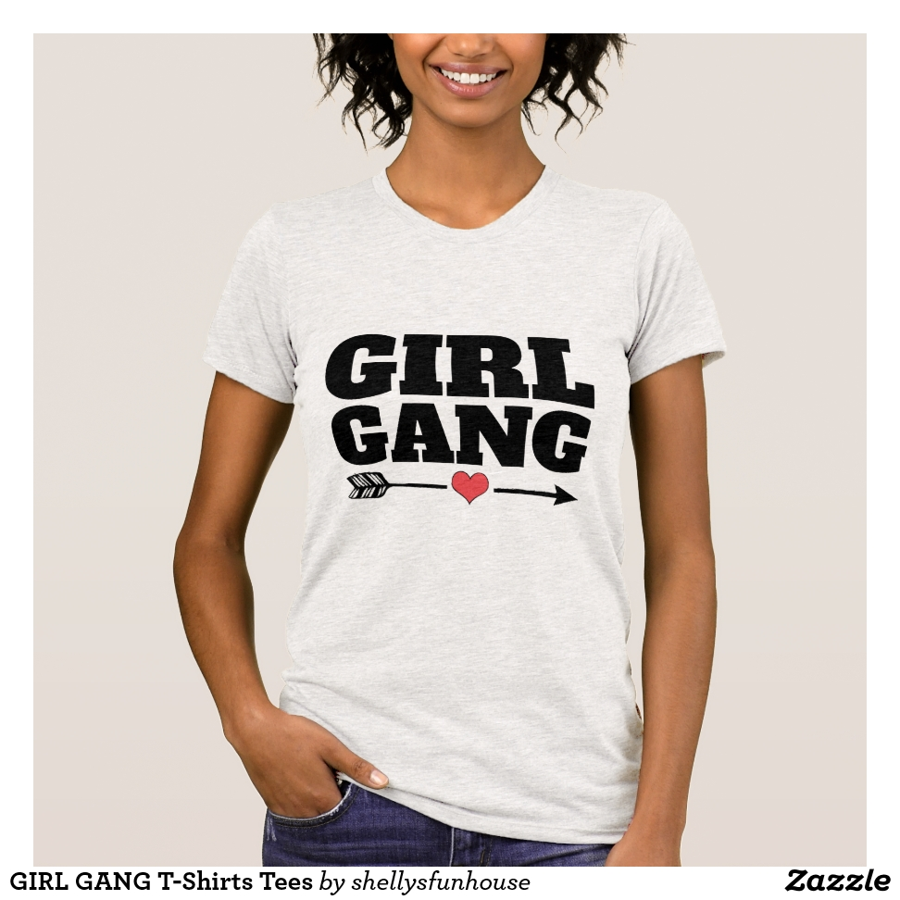 GIRL GANG T-Shirts Tees - Best Selling Long-Sleeve Street Fashion Shirt Designs