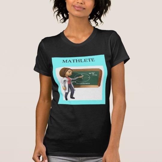 girl geek math goddess T-Shirt