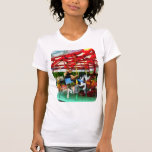 Girl Getting on Merry-Go-Round T-shirts