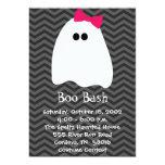 Girl Ghost Halloween Invitation