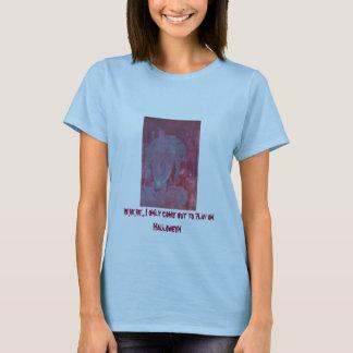 Girl Ghost on Halloween T-Shirt