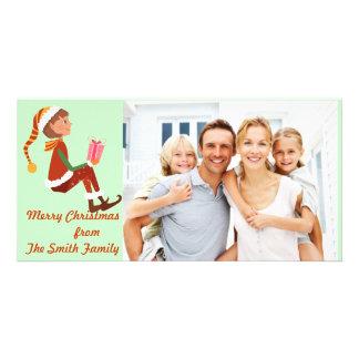 Girl gift photo card