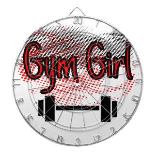 Girl Girl Dartboard