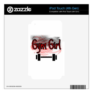 Girl Girl Decal For iPod Touch 4G