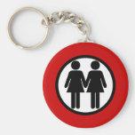 Girl + Girl Keychain