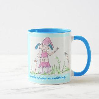 Girl Gnome, Dance Mug