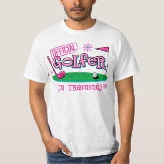 Girl Golfer In Training T-Shirt