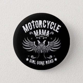 Girl Gone Road Pinback Button