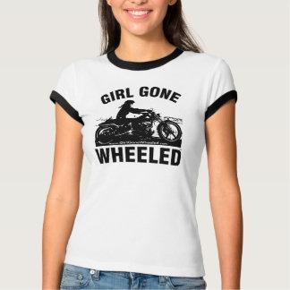 Girl Gone Wheeled Ringer T-Shirt