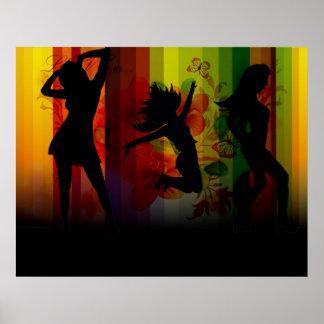 girl gone wild art poster