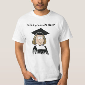 Girl Graduate Class 2011 T-Shirt Funny Humor
