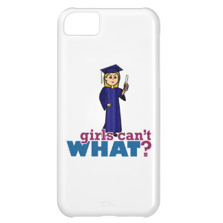 Girl Graduating Cover For iPhone 5C