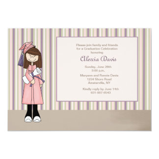 Girl Graduation Invitation