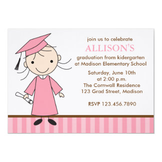 Girl Graduation Party Invitations