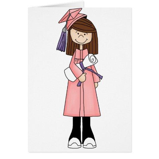 girl_graduation tarjeta de felicitación