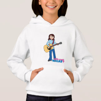 Girl Guitar Player Hoodie