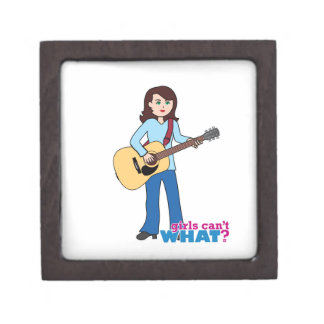 Girl Guitar Player Premium Gift Boxes