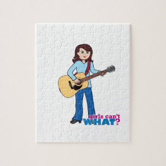 Girl Guitar Player Puzzles