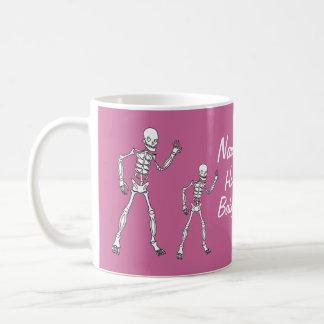 Girl Halloween Skeleton Baby Shower Mugs