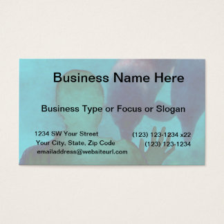 Girl hand up dolphins back grunged business card