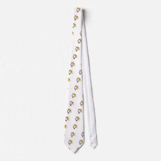 Girl Head Neck Tie