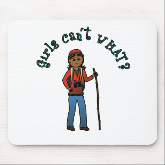 Girl Hiker Mouse Pad