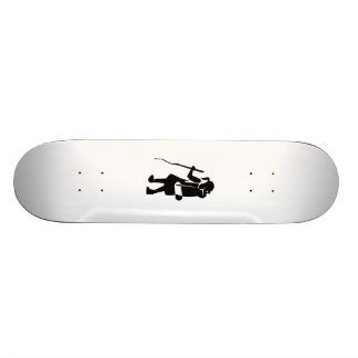 Girl Hiking Skate Boards