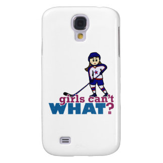 Girl Hockey Player Samsung Galaxy S4 Case