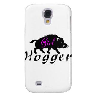 GIRL HOG HUNTER SAMSUNG GALAXY S4 CASE