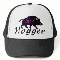 GIRL HOG HUNTING TRUCKER HAT