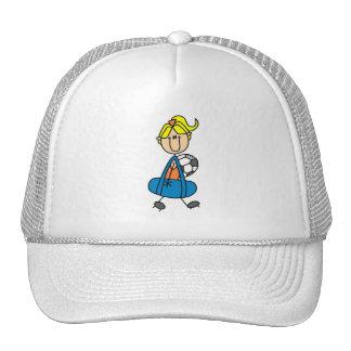 Girl Holding Soccer Bag Hat