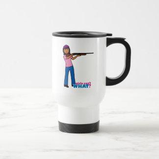 Girl Hunting Mugs