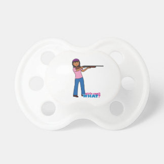 Girl Hunting BooginHead Pacifier