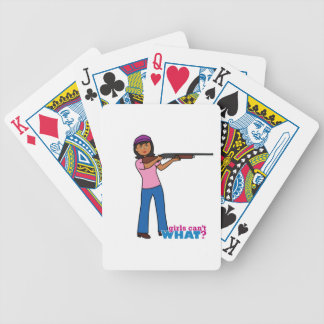 Girl Hunting Deck Of Cards