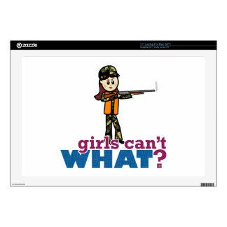 Girl Hunting Skins For Laptops