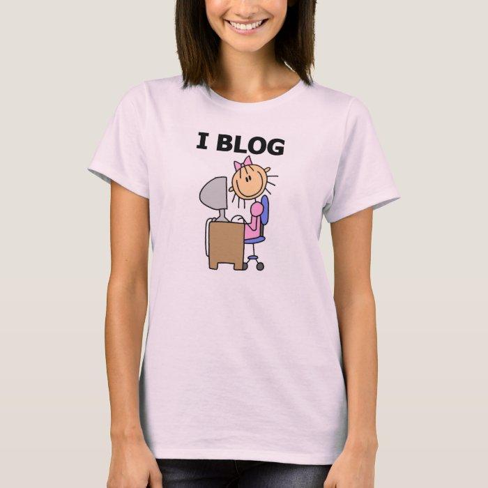Girl I Blog T-Shirt