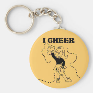 Girl I Cheer Tshirts and Gifts Keychain