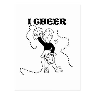Girl I Cheer Tshirts and Gifts Postcards