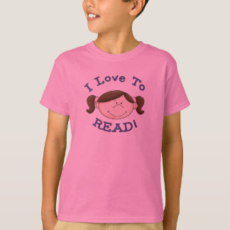 Girl I Love to Read Tshirts and Gifts