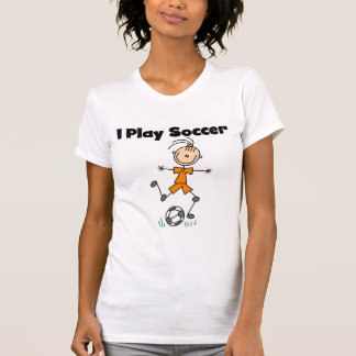 Girl I Play Soccer Tshirts and Gifts
