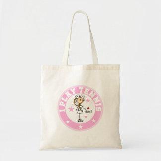 Girl I Play Tennis Tshirts and gifts Tote Bag