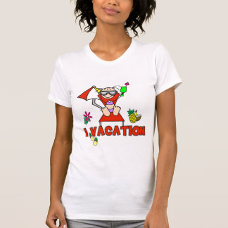 Girl I Vacation T-shirts and Gifts